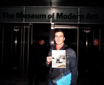 <br/>Photo: Todd Eberle / Filip Noterdaeme Picketing the New MoMA