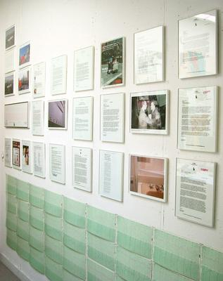 / Document Display at the HoMu BKLYN Archives (June 2007)