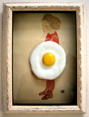 / Egg on Schiele,. 2006